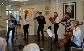 The Noble Quartet performing at Illoura in Wangaratta
